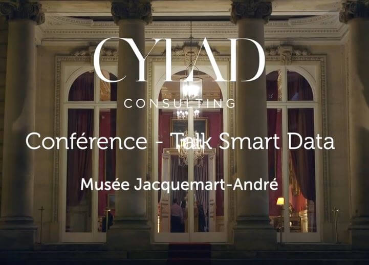 Spotlight on CYLAD conference on Smart Data at the Jacquemart André museum by CYLAD Consulting