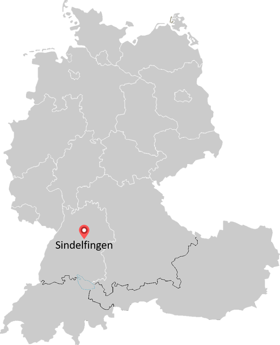 Map of Mercedes-Benz Management Consulting locations