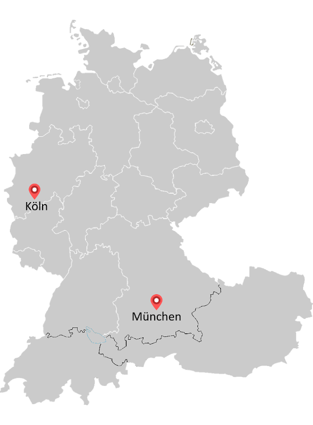 Map of Struktur Management Partner locations