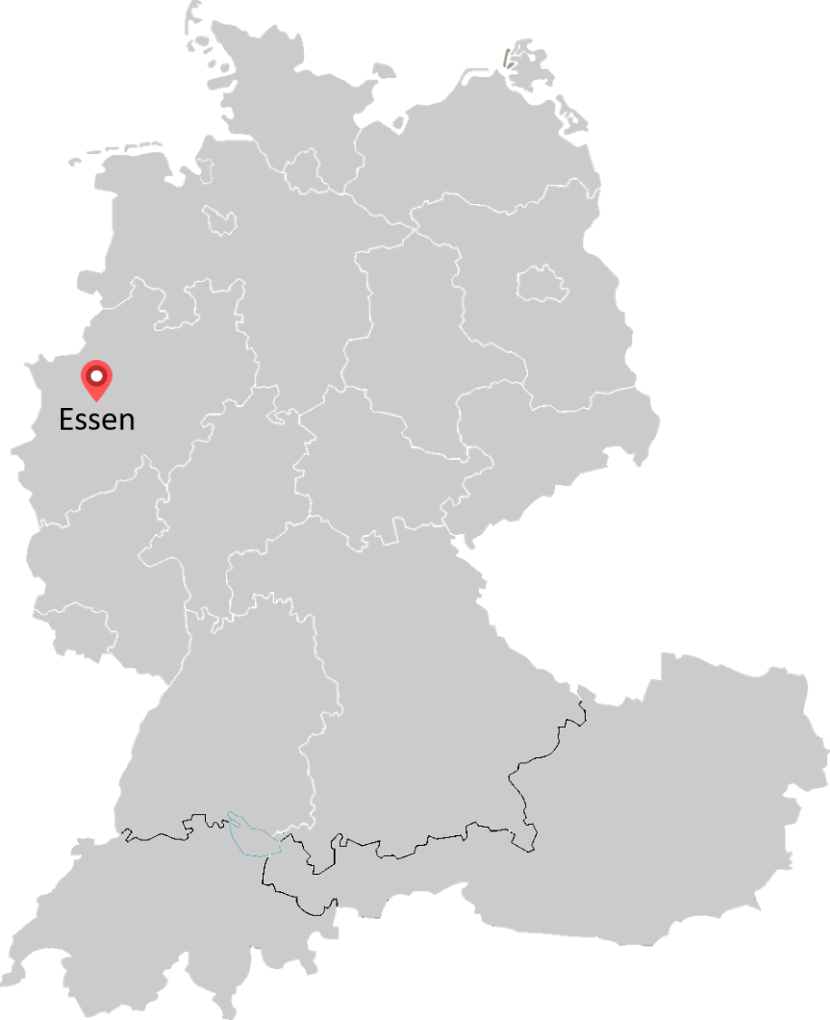 Map of Consulting@RWE locations