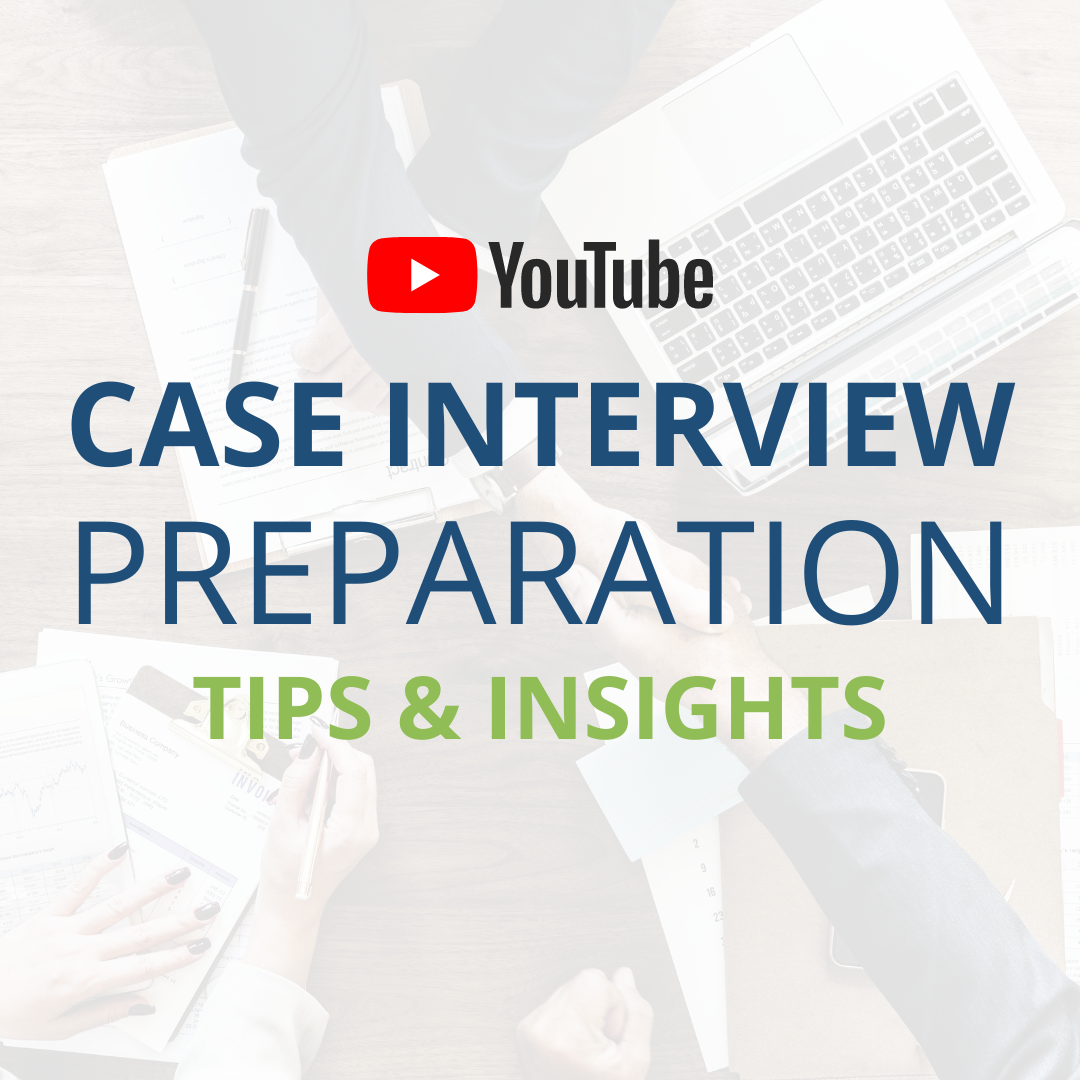 YouTube Video case interview in management consulting