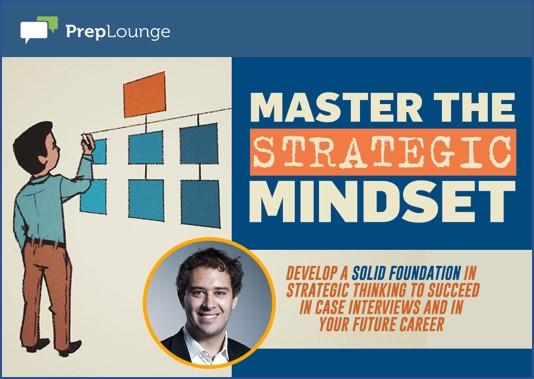 Master the Strategic Mindset by Bernard
