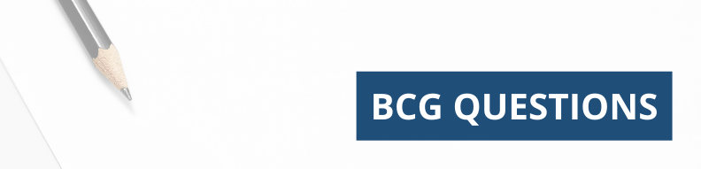 Typical BCG Interview Questions