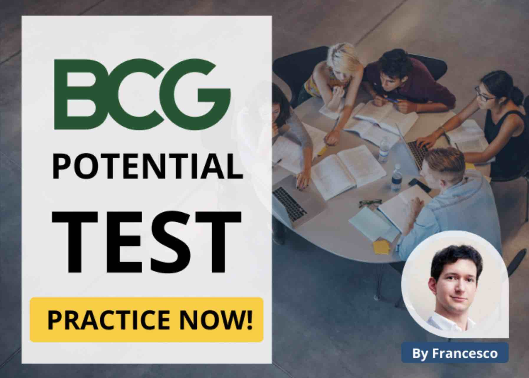 BCG Potential Test Practice Test