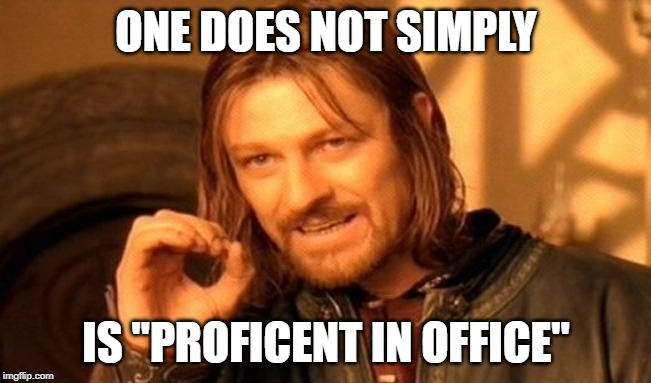 One does not simply Consulting meme