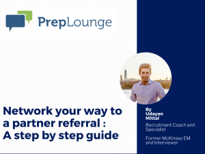 Networking Your Way to a Partner Referral